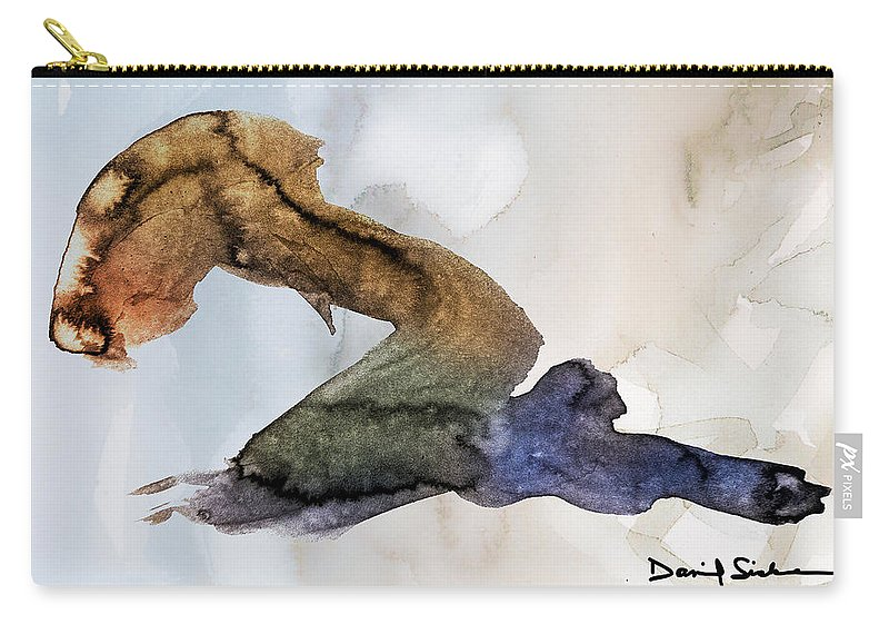 Alive Carry-all Pouch featuring the painting Deference by Dan Sisken