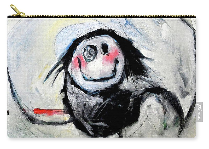 Kid Carry-all Pouch featuring the painting Degas Dancer by Tim Nyberg