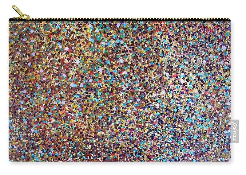 Deja Vu Carry-all Pouch featuring the painting Deja Vu by Dawn Hough Sebaugh