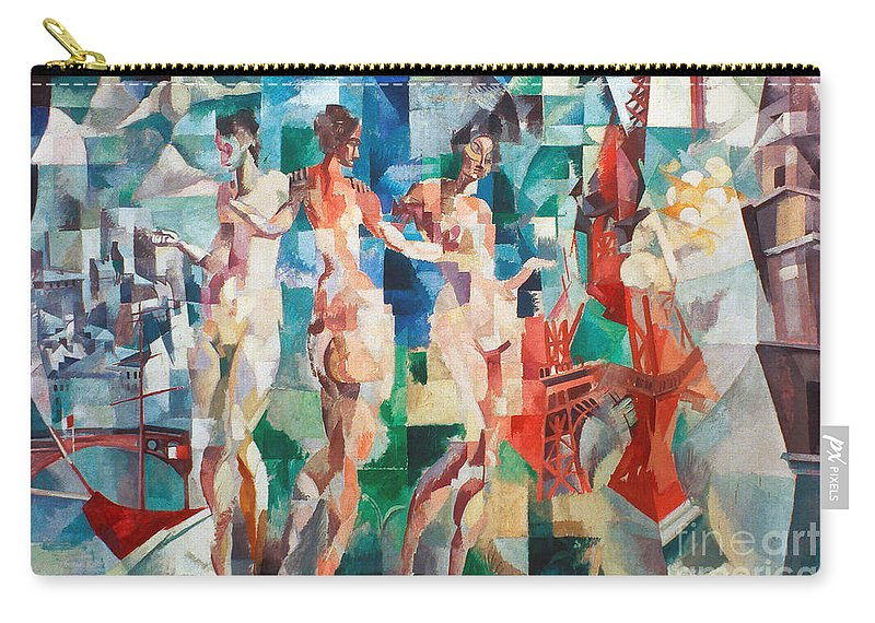 1910s Carry-all Pouch featuring the photograph Delaunay: City Of Paris by Granger