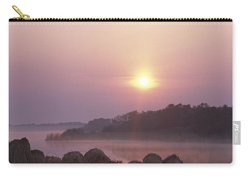 Dutch Carry-all Pouch featuring the photograph Delicate Morning by Casper Cammeraat