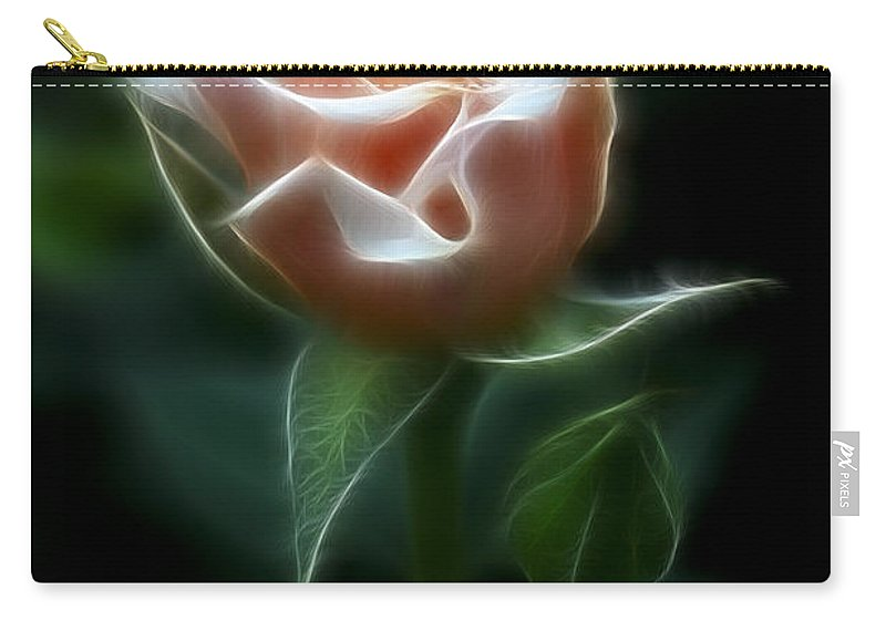 Photography Carry-all Pouch featuring the photograph Delight In Beauty by Deborah Benoit