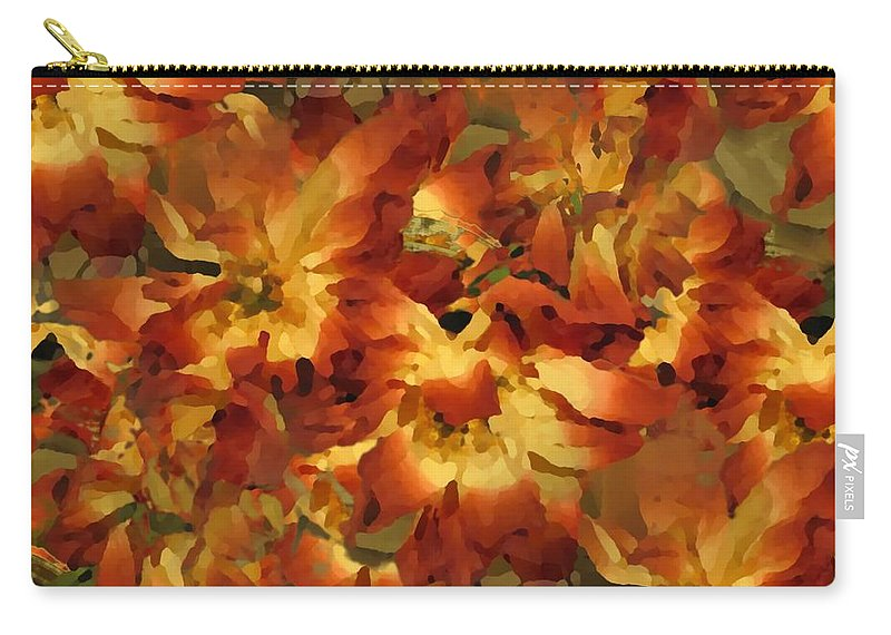 Flowers Carry-all Pouch featuring the photograph Delightful by Tim Allen