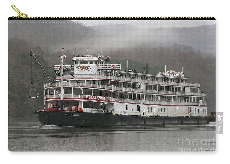 Art Print POSTER Canvas Paddlewheeler Delta Queen on Mississippi River
