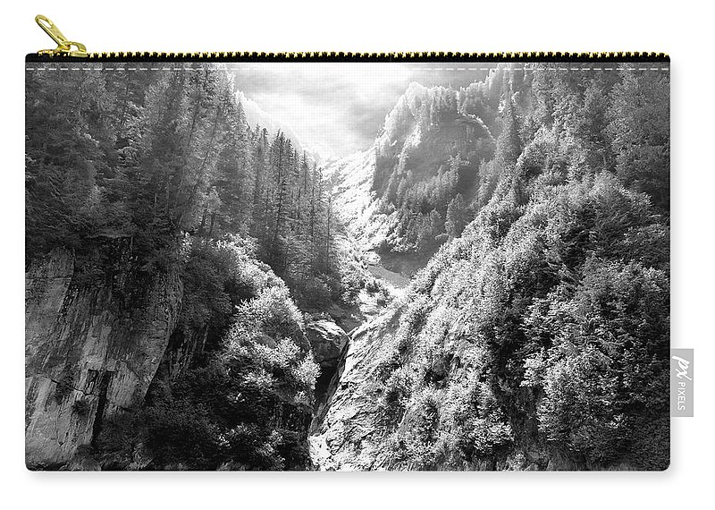 Alaska Carry-all Pouch featuring the photograph Denali National Park 2 by Dick Goodman