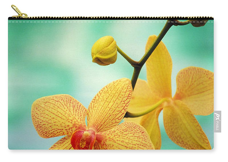 26-csm0163 Carry-all Pouch featuring the photograph Dendrobium by Allan Seiden - Printscapes