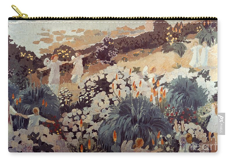 1912 Carry-all Pouch featuring the photograph Denis: Paradise, 1912 by Granger
