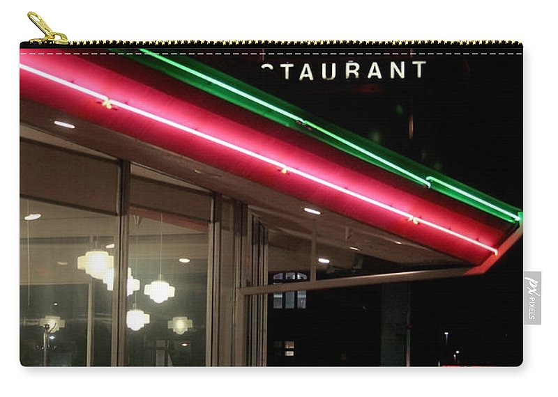Denver Diner Carry-all Pouch featuring the photograph Denver Diner by Jeffery Ball