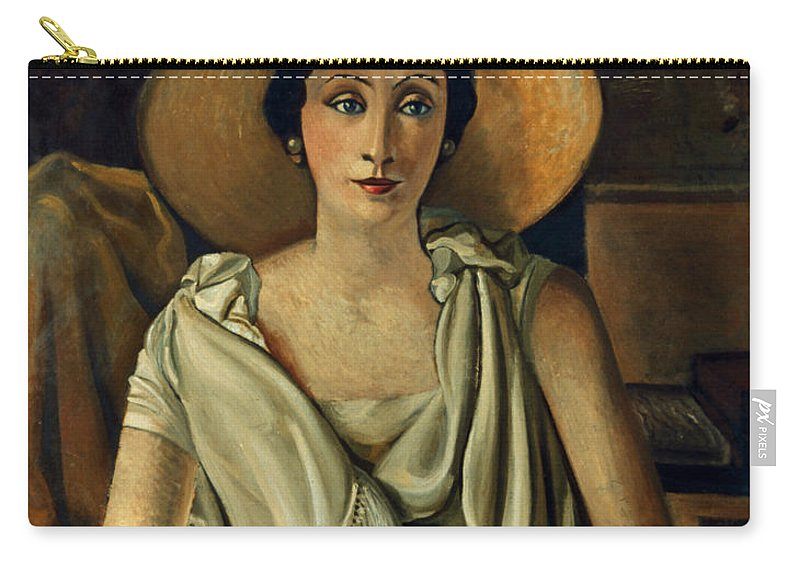 20th Century Carry-all Pouch featuring the photograph Derain: Guillaume, 20th C by Granger