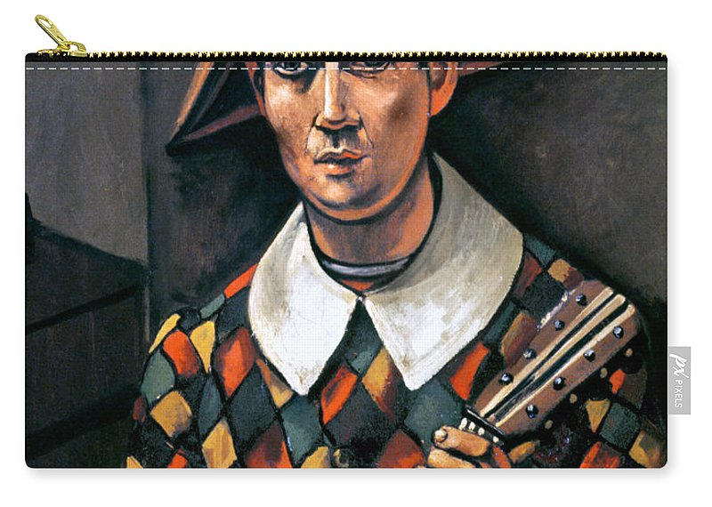 1919 Carry-all Pouch featuring the photograph Derain: Harlequin, 1919 by Granger