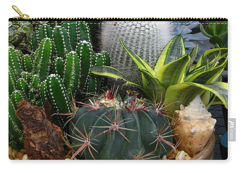 Art For The Wall...patzer Photography Carry-all Pouch featuring the photograph Desert Art by Greg Patzer