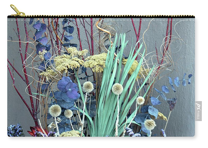 Desert Carry-all Pouch featuring the photograph Desert Flowers by Alynne Landers