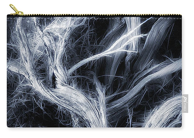 Branch Carry-all Pouch featuring the photograph Desert Limbs by Mike Nellums