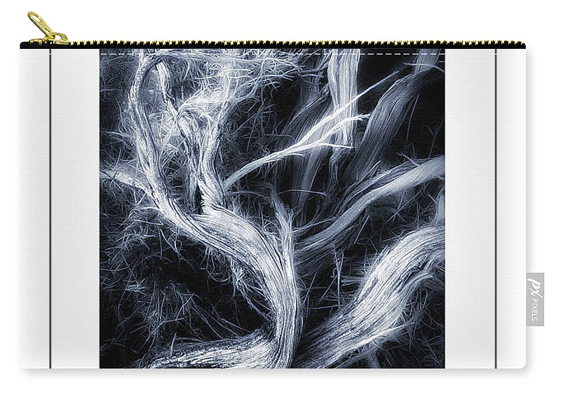 Branch Carry-all Pouch featuring the photograph Desert Limbs Poster by Mike Nellums