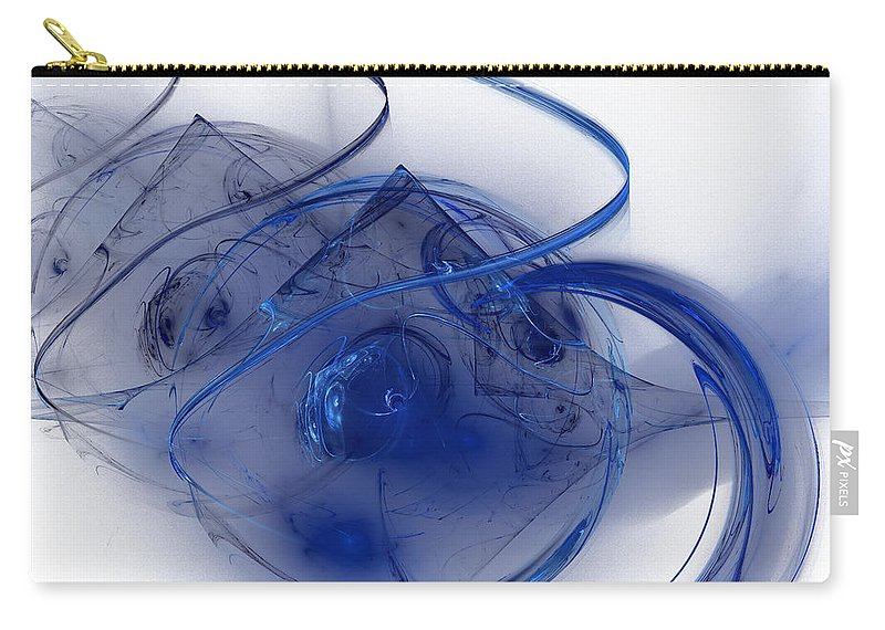 Desert Carry-all Pouch featuring the digital art Desert Moon by Emilio Pacheco