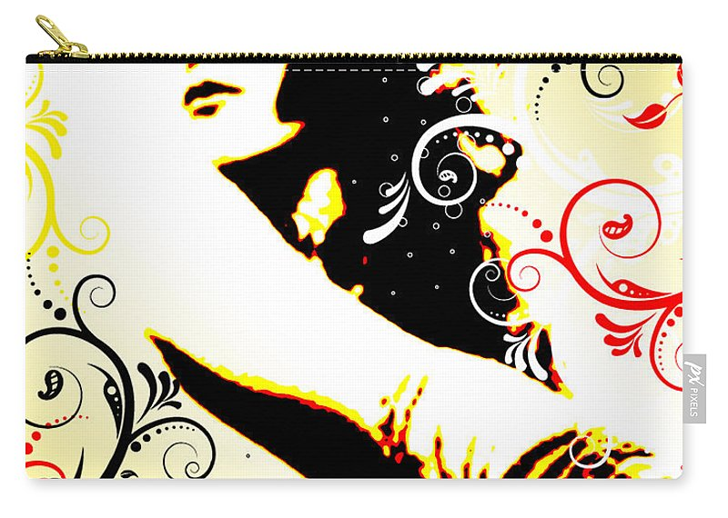 Nostalgic Seduction Carry-all Pouch featuring the digital art Desire by Chris Andruskiewicz