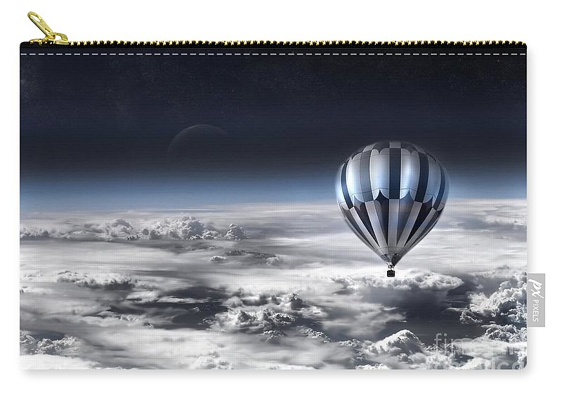Sky Carry-all Pouch featuring the photograph Destiny by Jacky Gerritsen