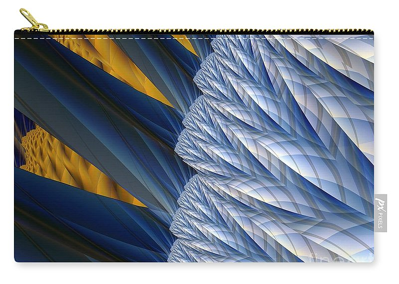 Montage Carry-all Pouch featuring the digital art Detail by Ron Bissett