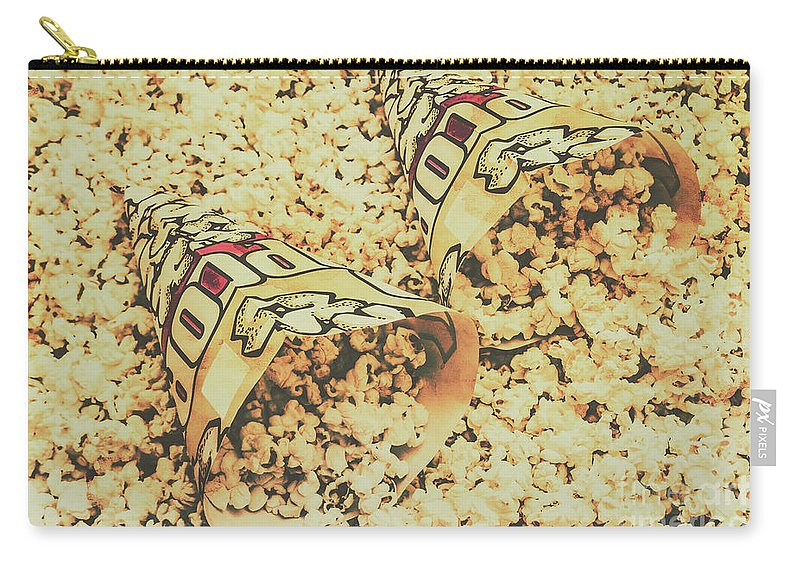 Details Carry-all Pouch featuring the photograph Details From The Old Drive-in by Jorgo Photography - Wall Art Gallery