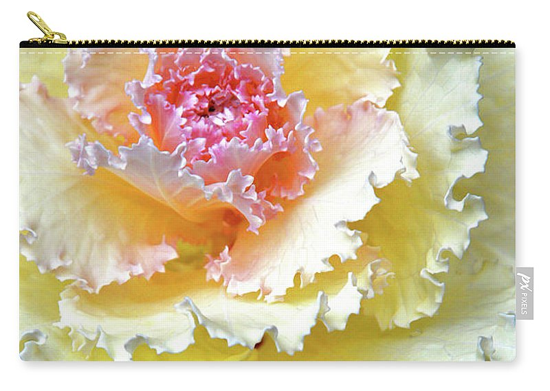 Beautiful Southern Flower Carry-all Pouch featuring the digital art Dew. Rain. Tears. by Andy Za