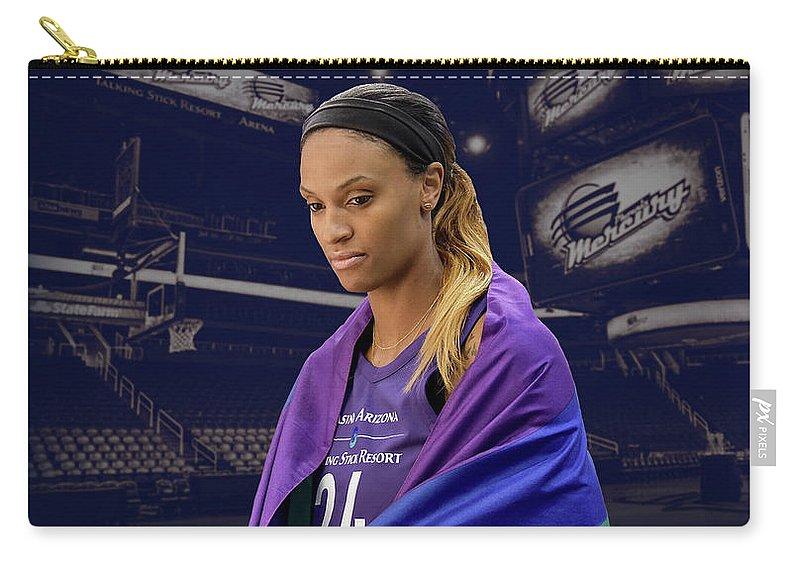 Dewanna Bonner Carry-all Pouch featuring the photograph Dewanna Bonner Lgbt Pride 4 by Devin Millington