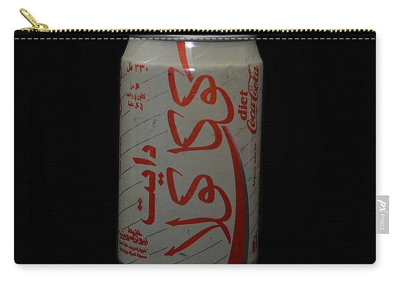 White Carry-all Pouch featuring the photograph Diet Coke by Rob Hans