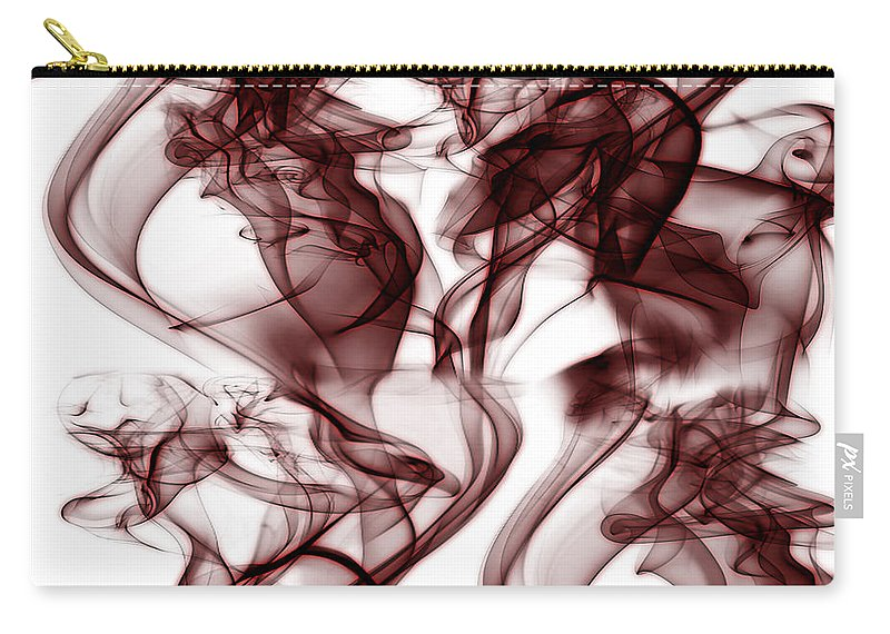Clay Carry-all Pouch featuring the digital art Dilusional by Clayton Bruster