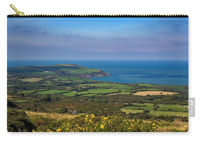 Pembroke Carry-all Pouch featuring the photograph Dinas Head by Mark Llewellyn