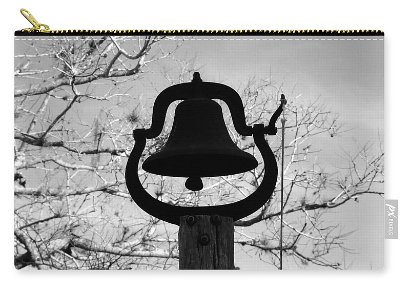 Dinner Bell Carry-all Pouch featuring the photograph Dinner Bell by David Lee Thompson