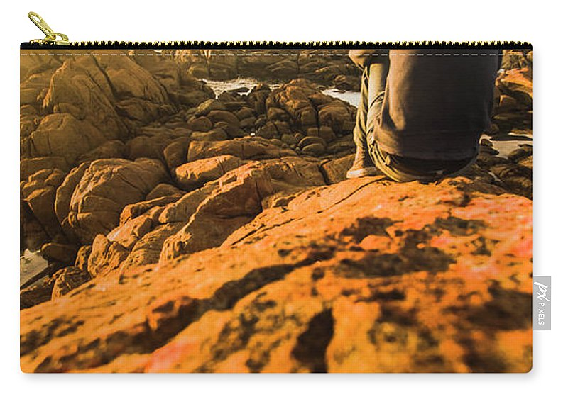 Beach Carry-all Pouch featuring the photograph Discovering Wonderful Tasmania by Jorgo Photography - Wall Art Gallery