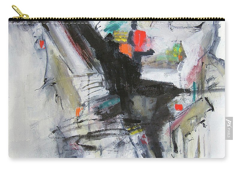 Abstract Carry-all Pouch featuring the painting Discovery Two by Ron Stephens