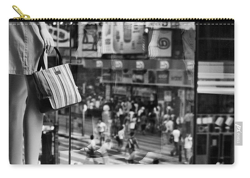 Mannequin Carry-all Pouch featuring the photograph Display by Dave Bowman