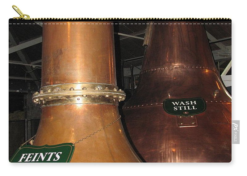 Jameson Carry-all Pouch featuring the photograph Distillery by Kelly Mezzapelle