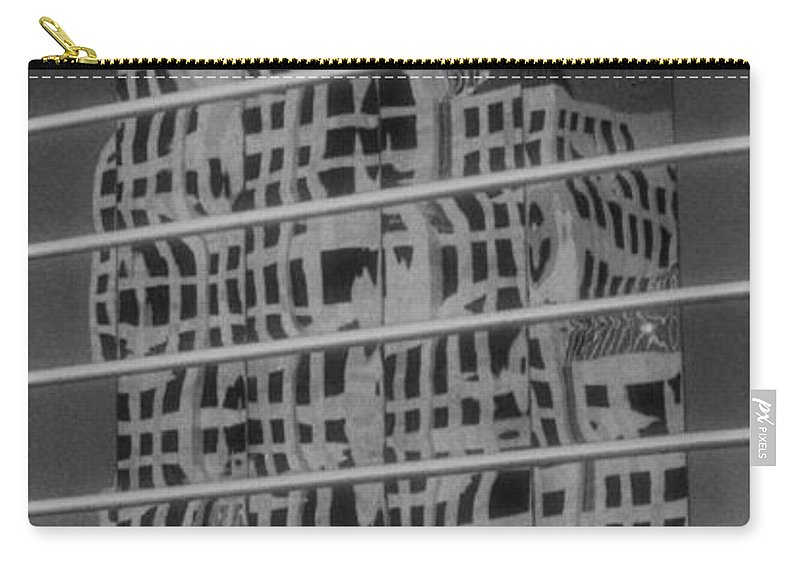 Distorted Carry-all Pouch featuring the photograph Distorted Views by Richard Rizzo