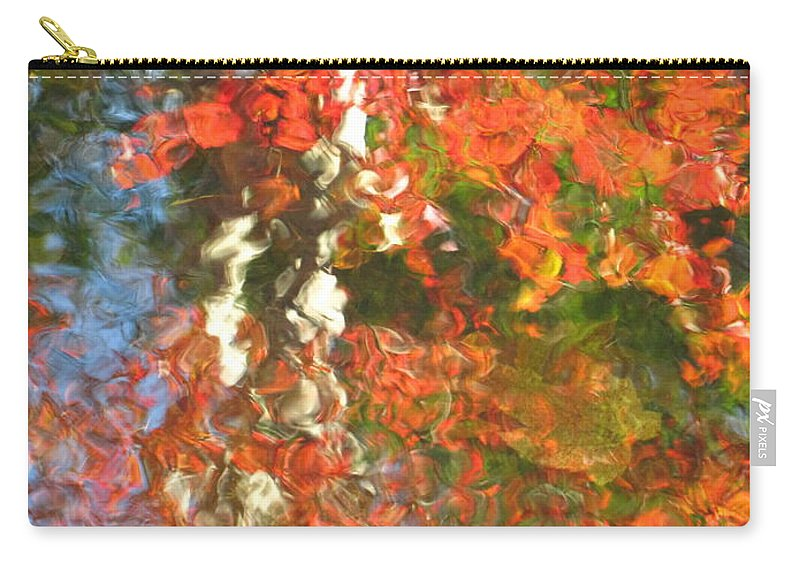 Colorful Liquid Carry-all Pouch featuring the photograph Delight by Sybil Staples