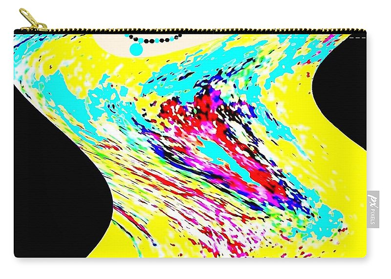 Abstract Carry-all Pouch featuring the digital art Diva by Will Borden