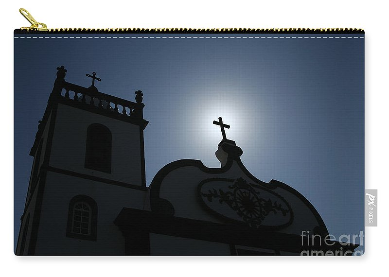 Belief Carry-all Pouch featuring the photograph Divine Light by Gaspar Avila