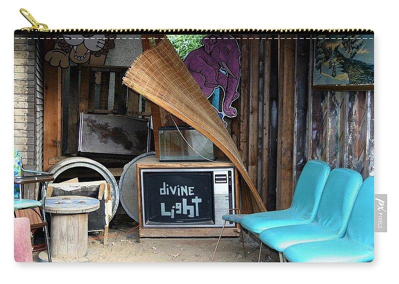 Divine Light Carry-all Pouch featuring the photograph Divine Light by Minaz Jantz