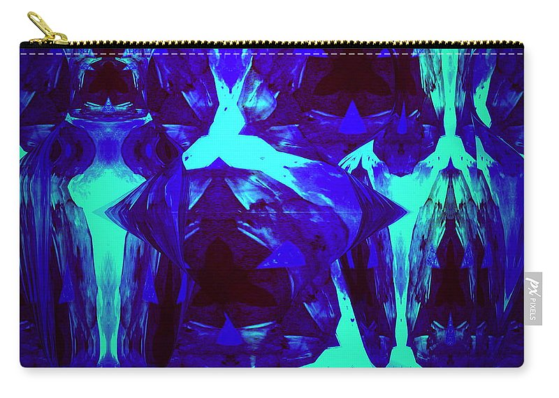 Abstract Carry-all Pouch featuring the photograph Division Of Light by Joyce Dickens
