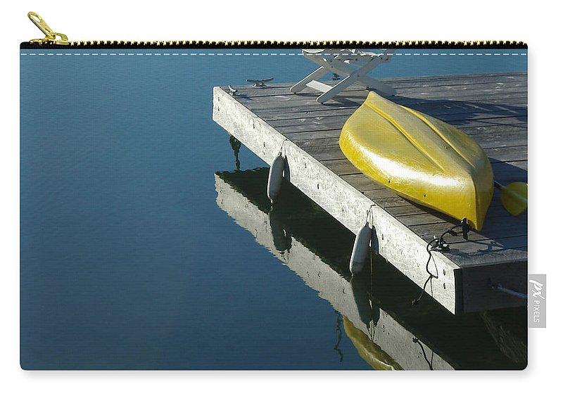 Landscape Nautical New England Kennebunkport Carry-all Pouch featuring the photograph Dnre0609 by Henry Butz