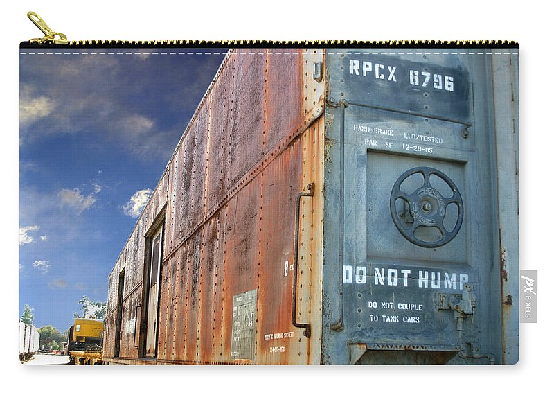 Do Not Hump Carry-all Pouch featuring the photograph Do Not Hump by Anthony Jones