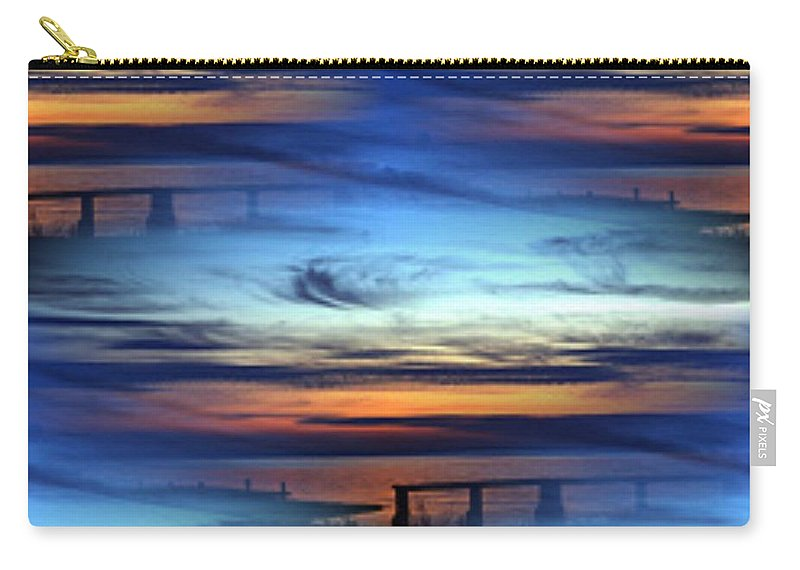 Dock Carry-all Pouch featuring the photograph Dock Of The Bay by Tim Allen