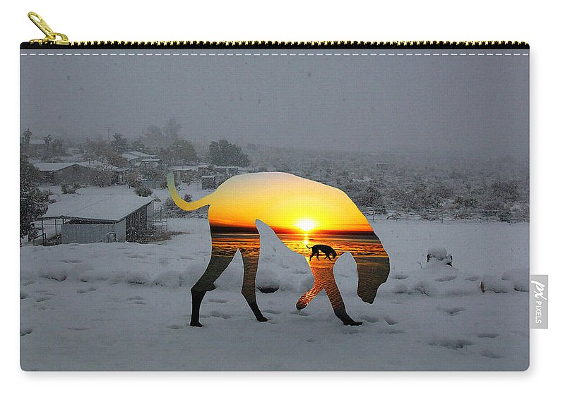 Landscape Carry-all Pouch featuring the photograph Dog Day Afternoon by Snake Jagger