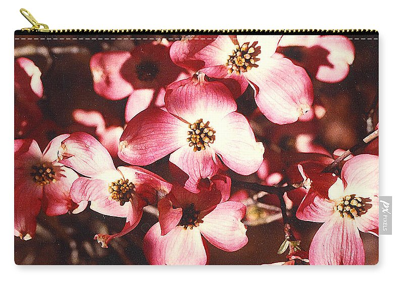 Dogwood Carry-all Pouch featuring the photograph Dogwood Harmony by Nancy Mueller