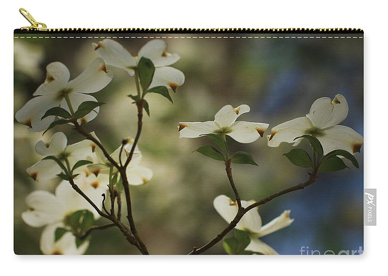 Spring Flowers Carry-all Pouch featuring the photograph Dogwoods by Kim Henderson