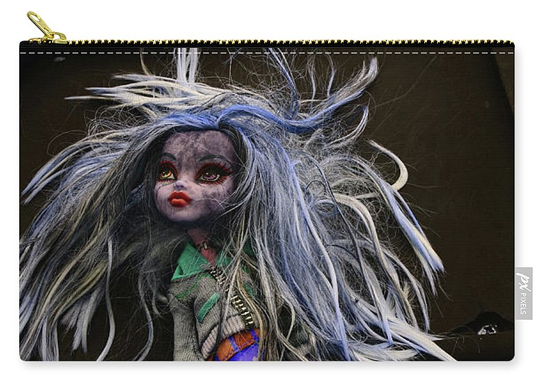 Babe Carry-all Pouch featuring the photograph Doll X2 by Char Szabo-Perricelli