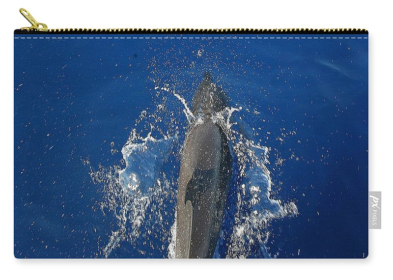 Dolphin Carry-all Pouch featuring the photograph Dolphin by J R Seymour