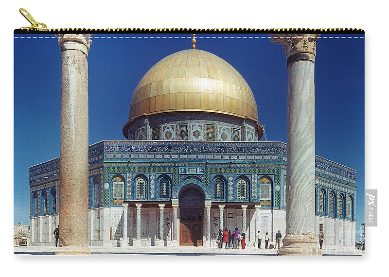 Building Carry-all Pouch featuring the photograph Dome Of The Rock by Granger
