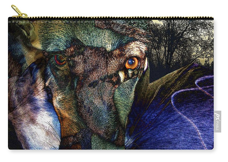 Dog Carry-all Pouch featuring the photograph Domesticated by Ron Bissett