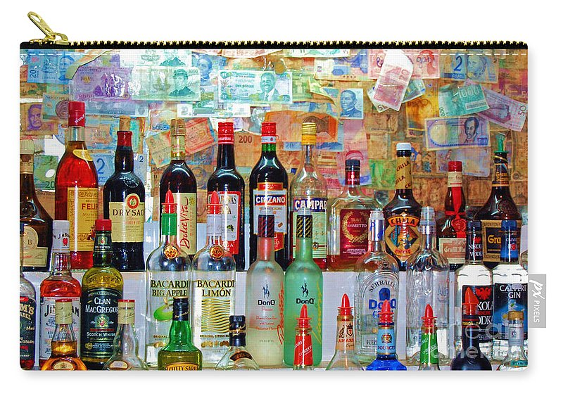 Liquor Carry-all Pouch featuring the photograph Don Q by Debbi Granruth